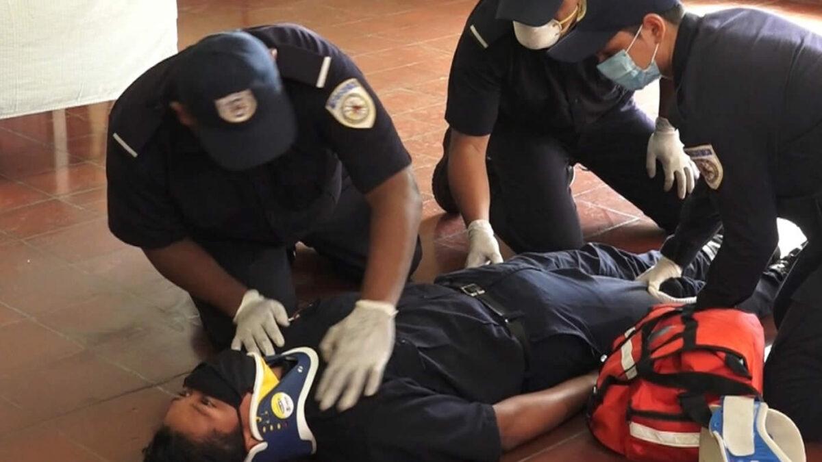 Brigadistas comunitarios refrescan conocimientos, en materia de primeros auxilios