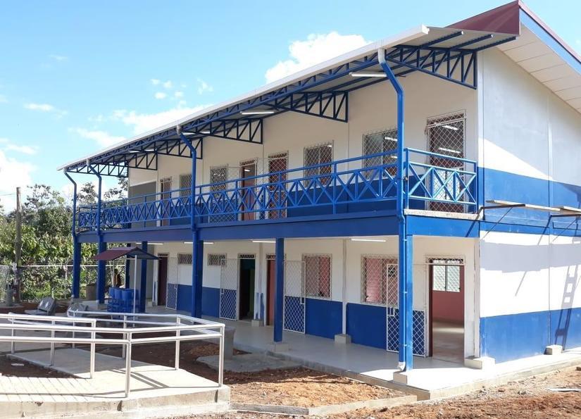 Millonaria inversión en escuelas dañadas por huracanes en el Caribe de Nicaragua