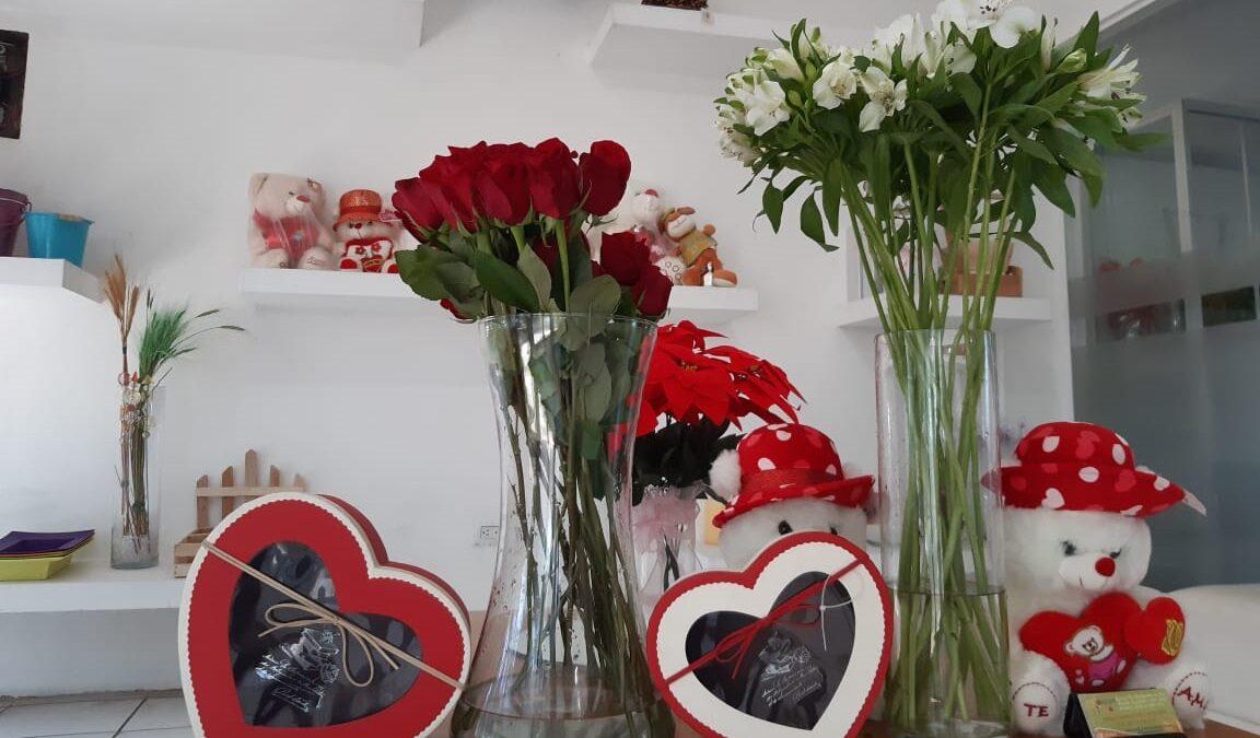 Floristerías con gran demanda para el 14 de febrero