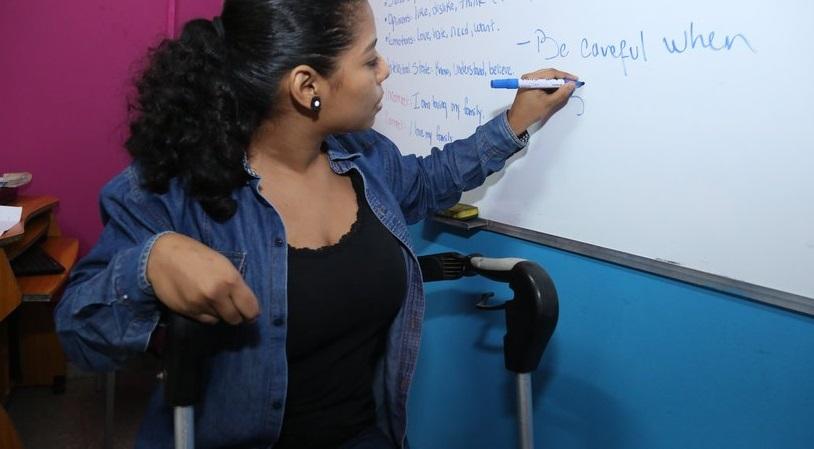 Nicaragua garantiza más educación técnica a personas con discapacidad