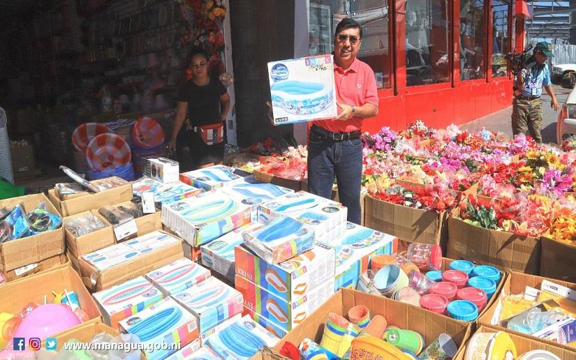 Artículos de verano más baratos en los mercados de Nicaragua