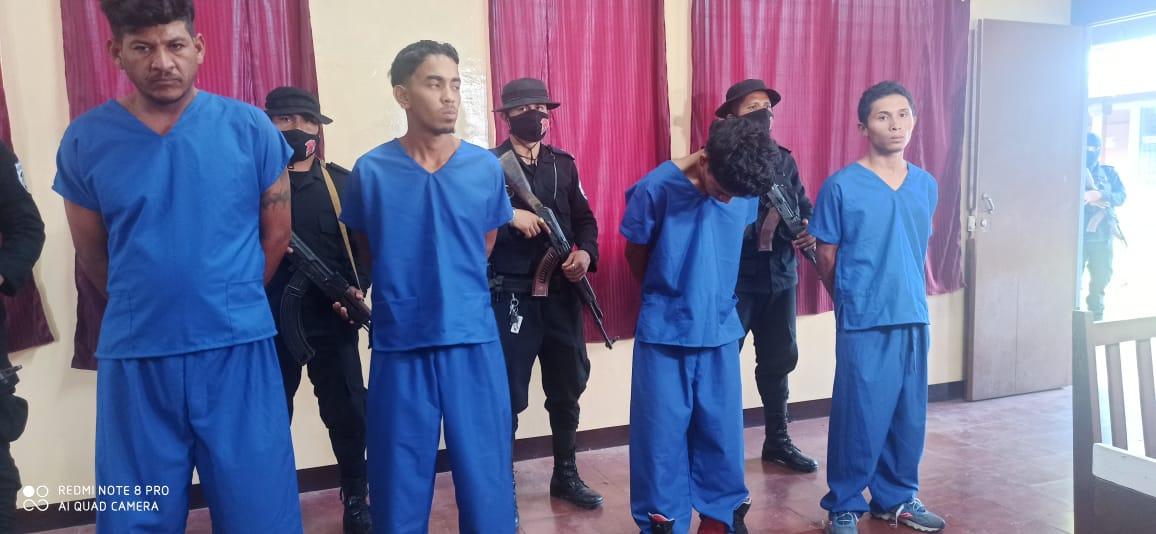 Operativo en Estelí deja 4 detenidos y la incautación de varios tacos de marihuana