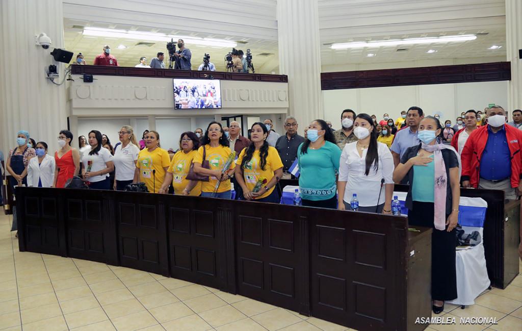Nicaragua en primer lugar regional y mundial de la participación de la mujer en roles políticos