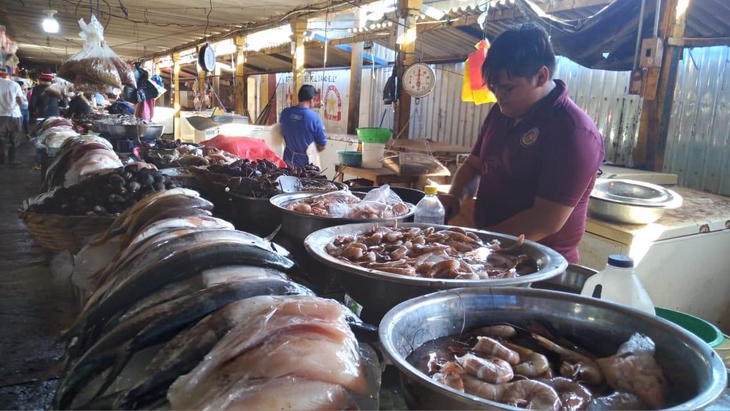 Productos del mar a precios estables en Managua
