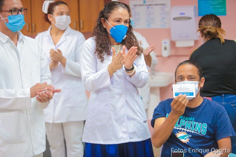 Avanza programa nacional de vacunación voluntaria contra la Covid-19