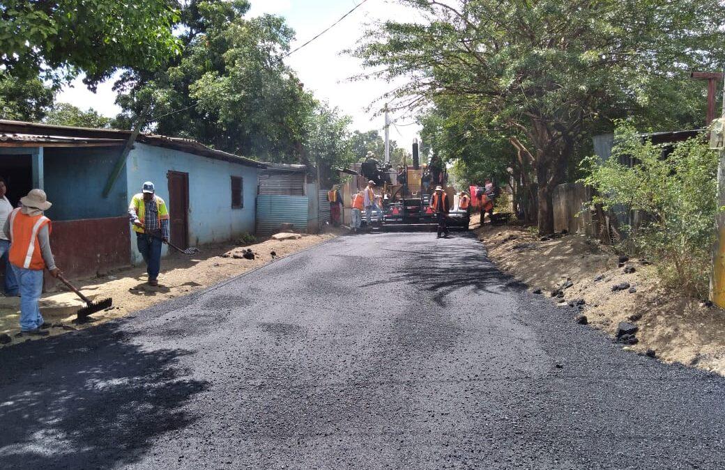 Mejoramiento de calle en el barrio José Dolores Estrada supera el millón de córdoba