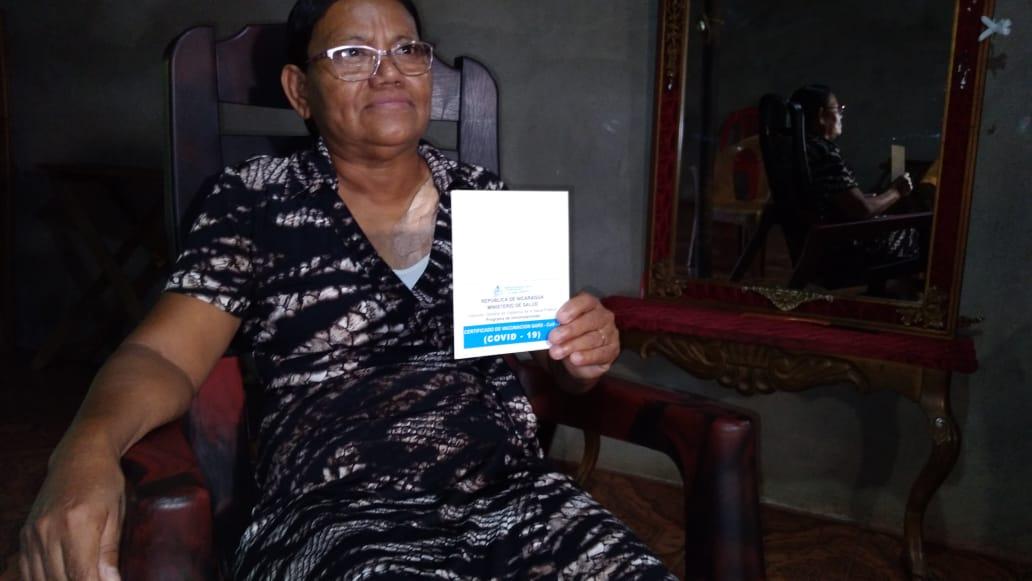 Vacunación contra la covid-19 da más tranquilidad a los nicaragüenses