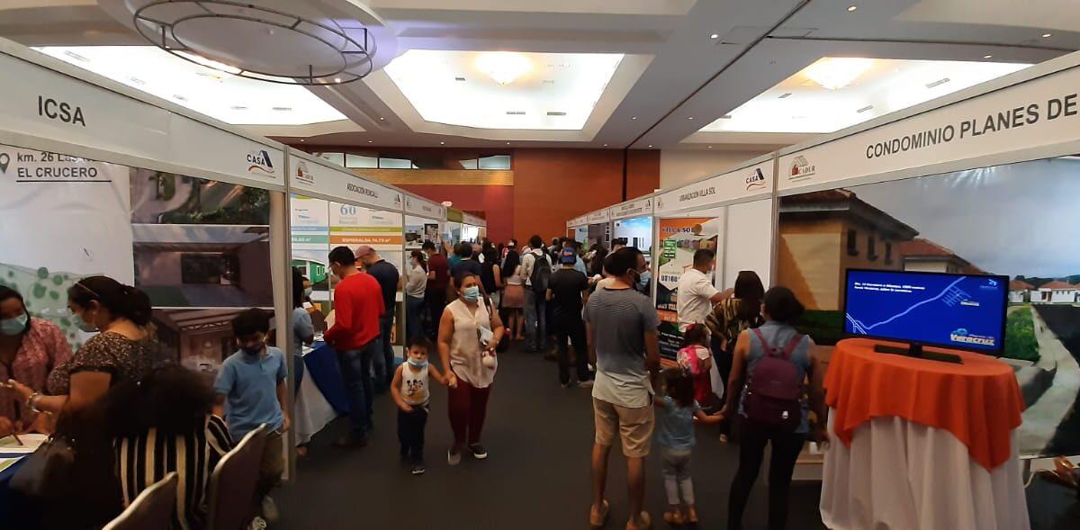 Miles de familias visitaron la Feria Expo Casa 2021
