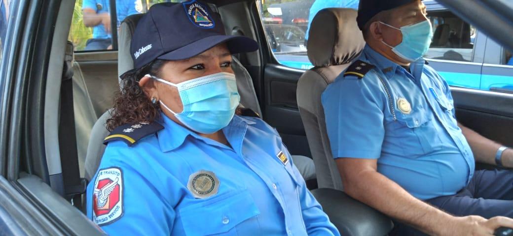 Policía Nacional saluda a las mujeres en su día, garantizando seguridad ciudadana permanente