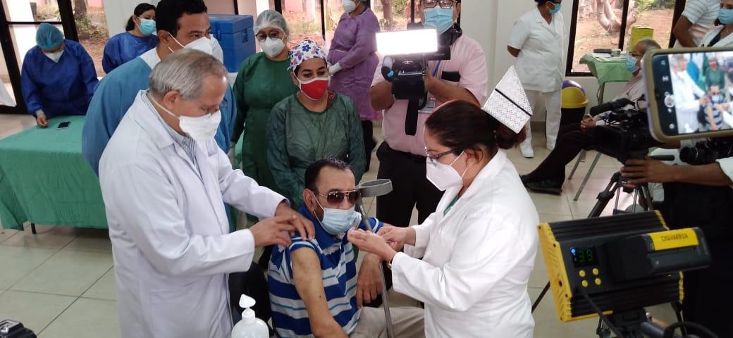 Sexto día de vacunación contra la Covid-19 en Nicaragua