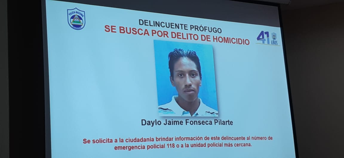 Capturan a alias «chucky» acusado de asesinar a un joven en Ciudad Sandino