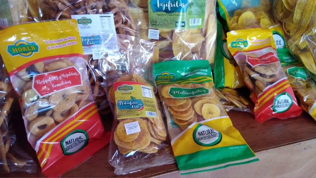 Comercial Horeb oferta variedad de boquitas para acompañar tus meriendas y eventos