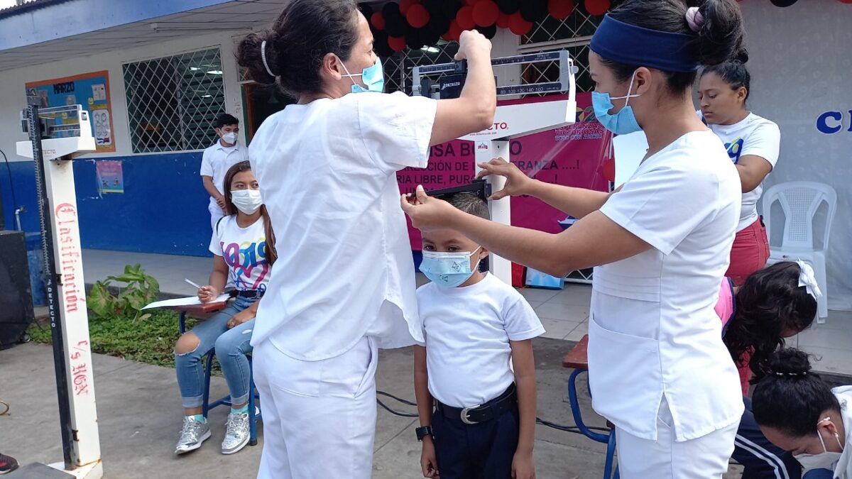 Más de 700 mil niños censados en Nicaragua