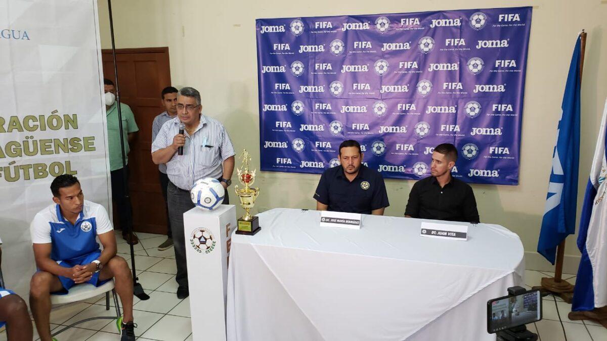 Nicaragua está lista para su debut en las eliminatorias rumbo a Qatar 2022