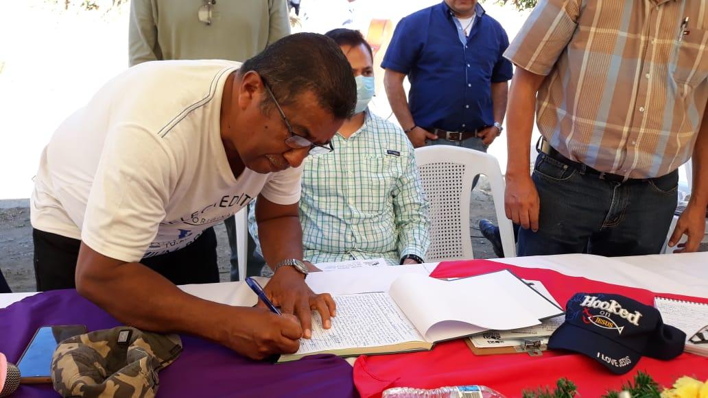 Comunidad Las Mercedes contará con agua potable