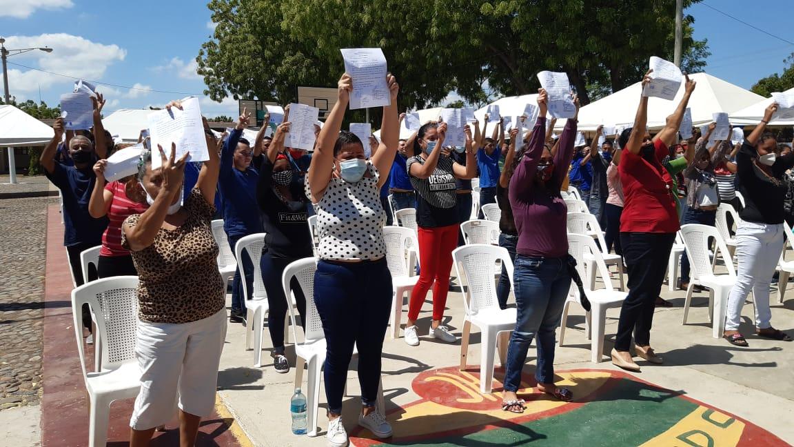 800 presos reciben régimen de convivencia familiar en Nicaragua