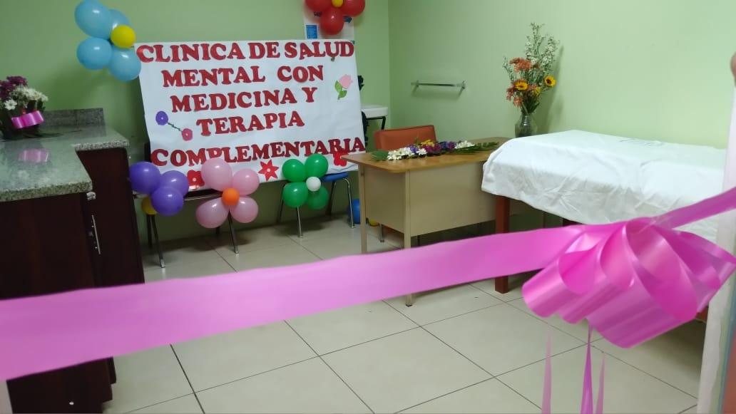 Inauguran clínica de Salud Mental en hospital Alemán Nicaragüense