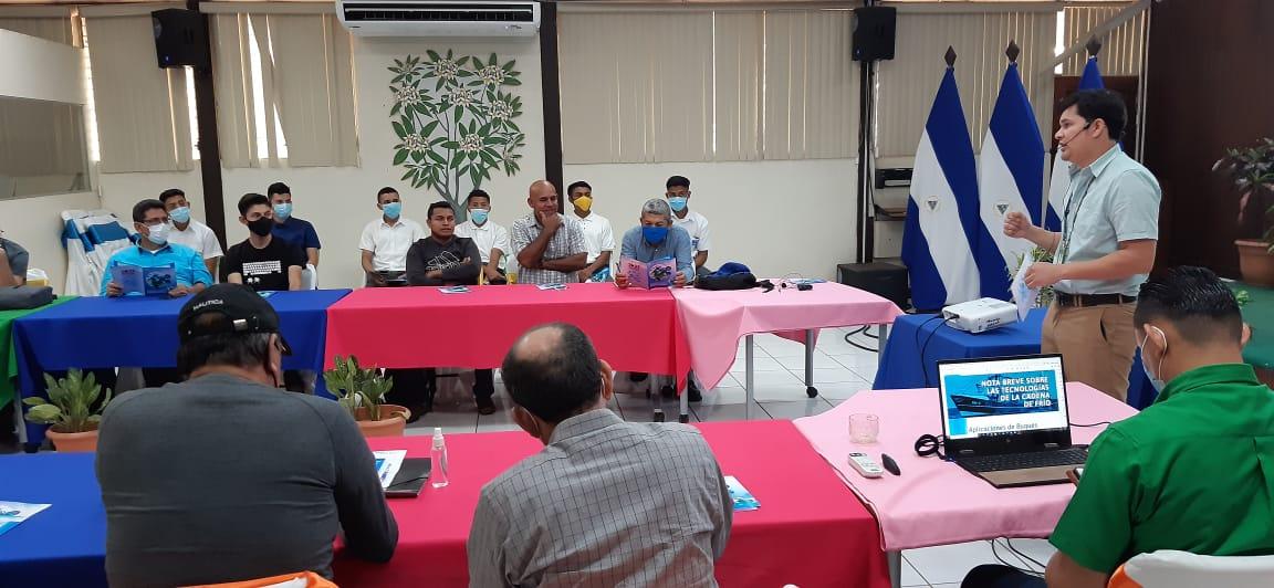 Promueven buenas prácticas ambientales en buques pesqueros de Nicaragua