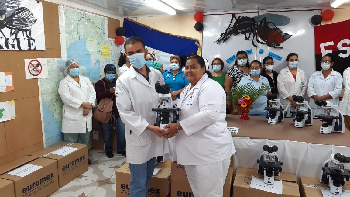 Todos los municipios de Managua ya tienen microscopios para detectar Malaria