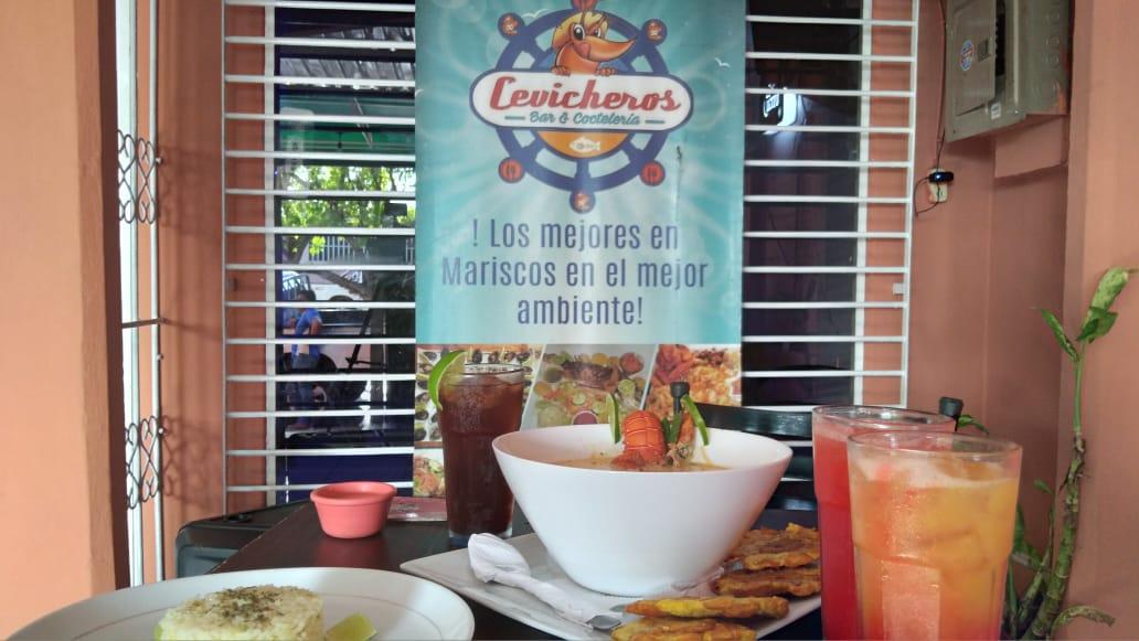 Cevicheros, bar y restaurante donde puede saborear riquísimos platillos
