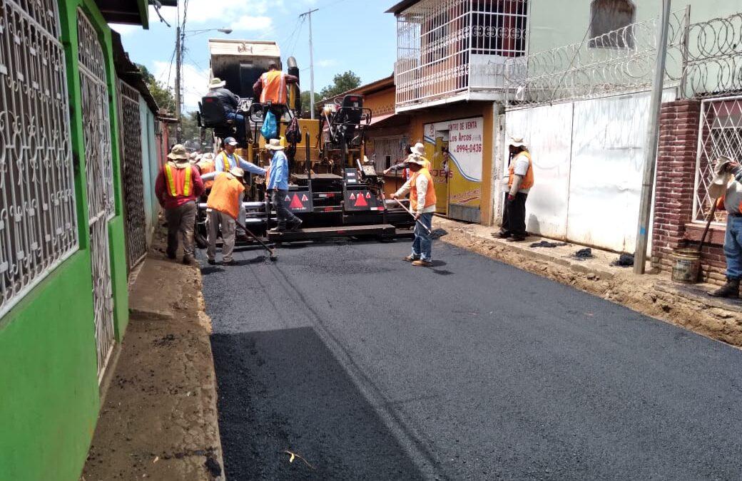 Managua tiene 240 calles nuevas en los primeros tres meses del 2021