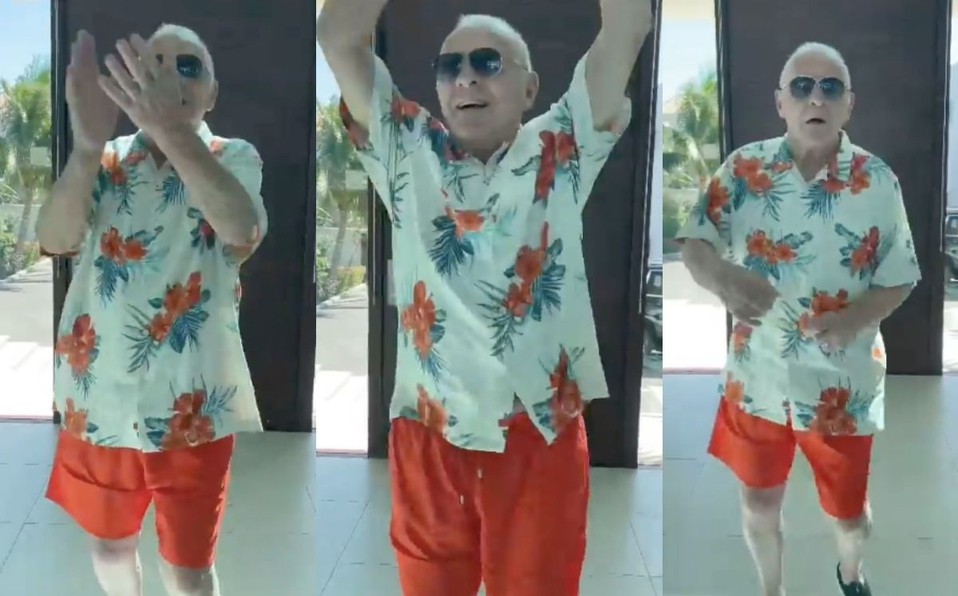 El divertido baile de Anthony Hopkins al ritmo de Elvis Crespo