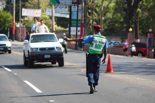 Fortalecerán prevención vial de cara a la Semana Santa en Nicaragua