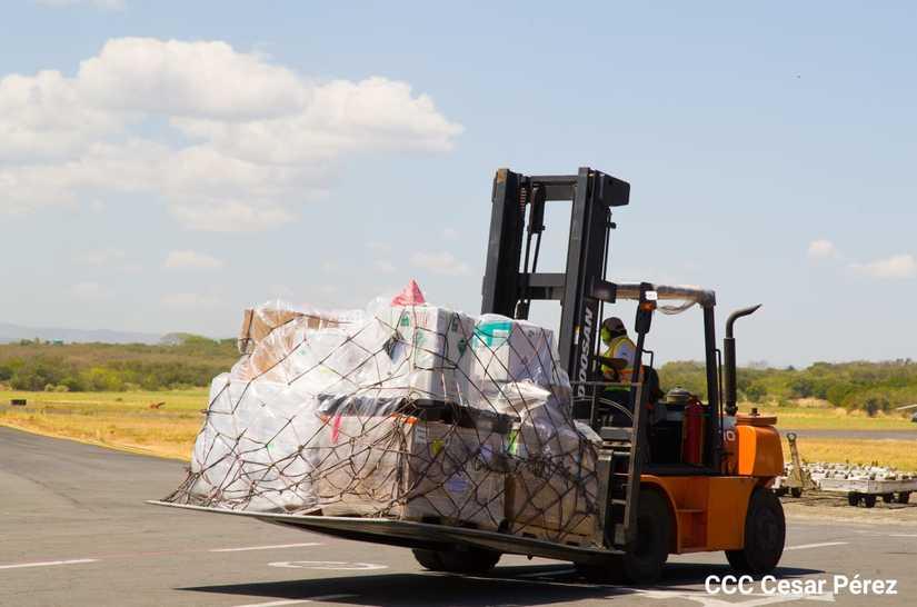 Llega nuevo cargamento de vacunas a Nicaragua