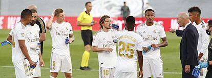 Zidane satisfecho con el trabajo defensivo ante el Eibar