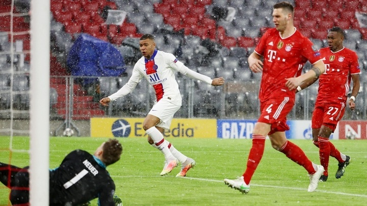 PSG vence al Bayern 2-3 en los cuartos de final de la Champions League