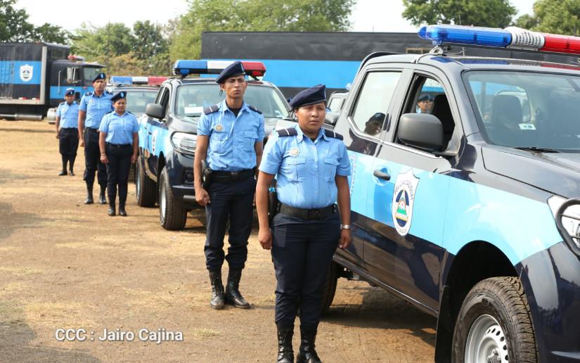 Planes de seguridad ciudadana garantizan tranquilidad en las familias nicaragüenses