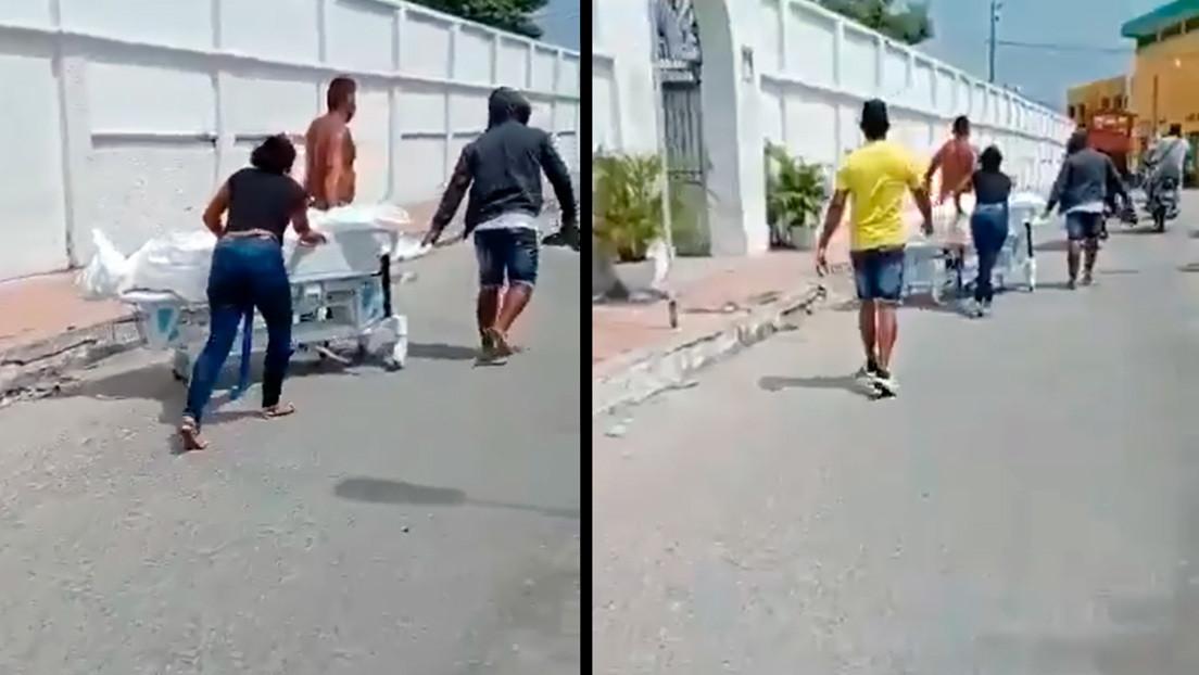 Colombia: familiares sacan a la fuerza  de un hospital a paciente fallecido por Covid-19