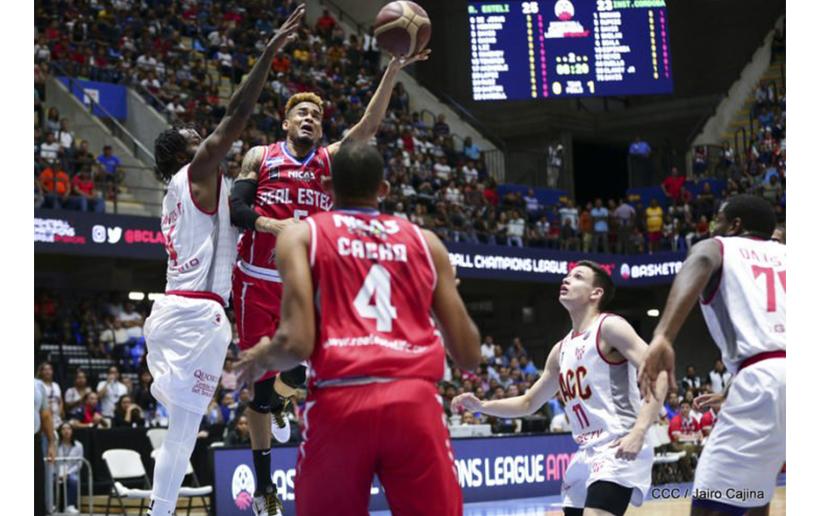 Polideportivo Alexis Argüello albergará la final de la Basketball Champions League