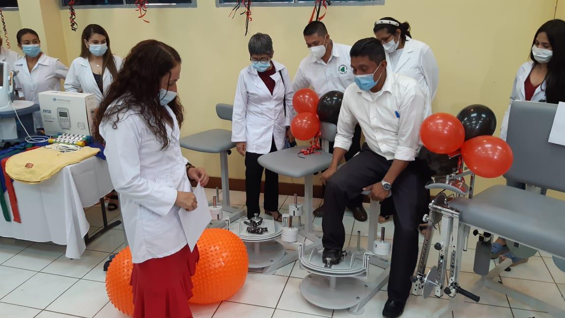 Envían modernos equipos de Fisioterapia a municipios del norte de Nicaragua