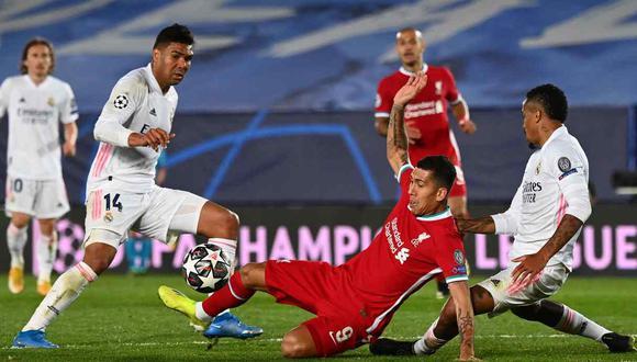 Real Madrid busca sellar su pase a semifinales en Anfield