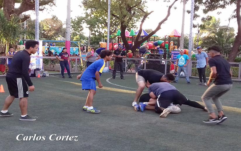 Nicaragüense se interesan cada vez más por el Rugby
