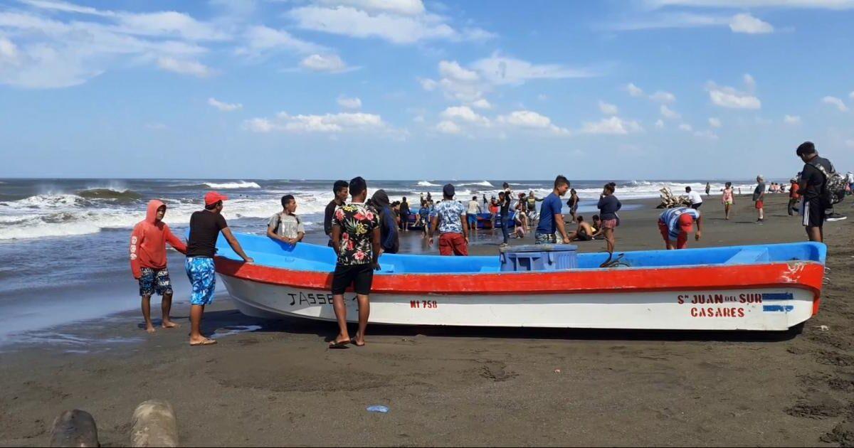 Pescadores de Casares reportan excelentes ventas de mariscos