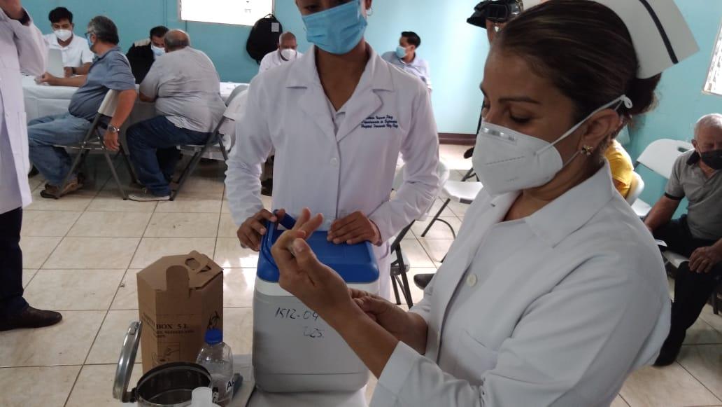 Avanza en un 13% la Jornada Nacional de Vacunación en Nicaragua