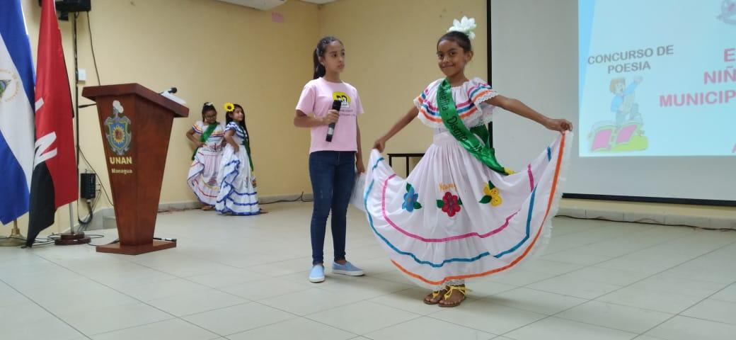Eligen a la niña Milafita 2021 de Managua