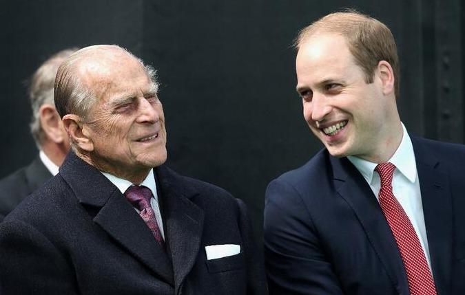 La emotiva despedida de William a su abuelo, el príncipe Felipe