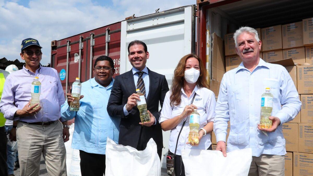 Rusia entrega importante donativo al Programa de Alimentos para la merienda escolar nicaragüense
