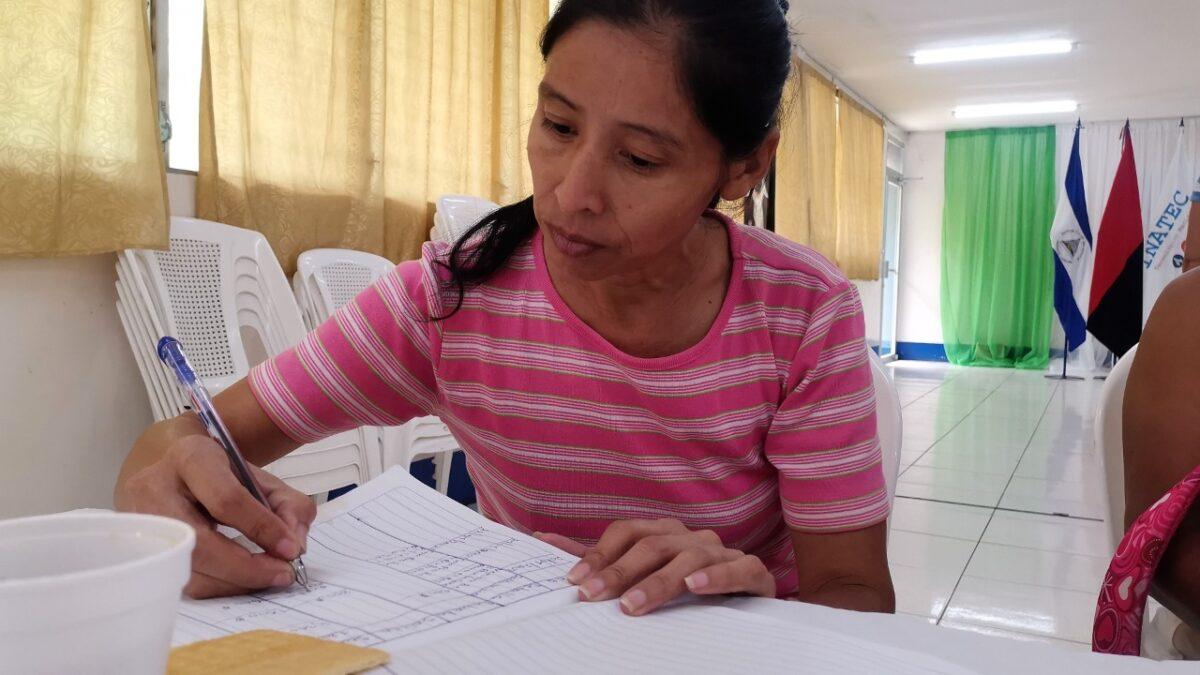 Personas con discapacidad en Ocotal fortalecen sus conocimientos con el Inatec