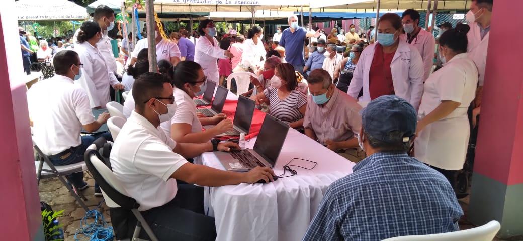 Masiva jornada de vacunación contra la Covid-19 en Managua y Tipitapa