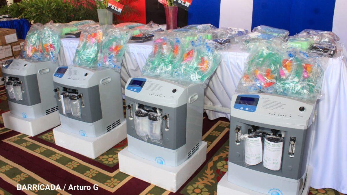 Nicaragua: OPS dona 331 generadores de oxígeno para continuar la lucha contra la Covid-19