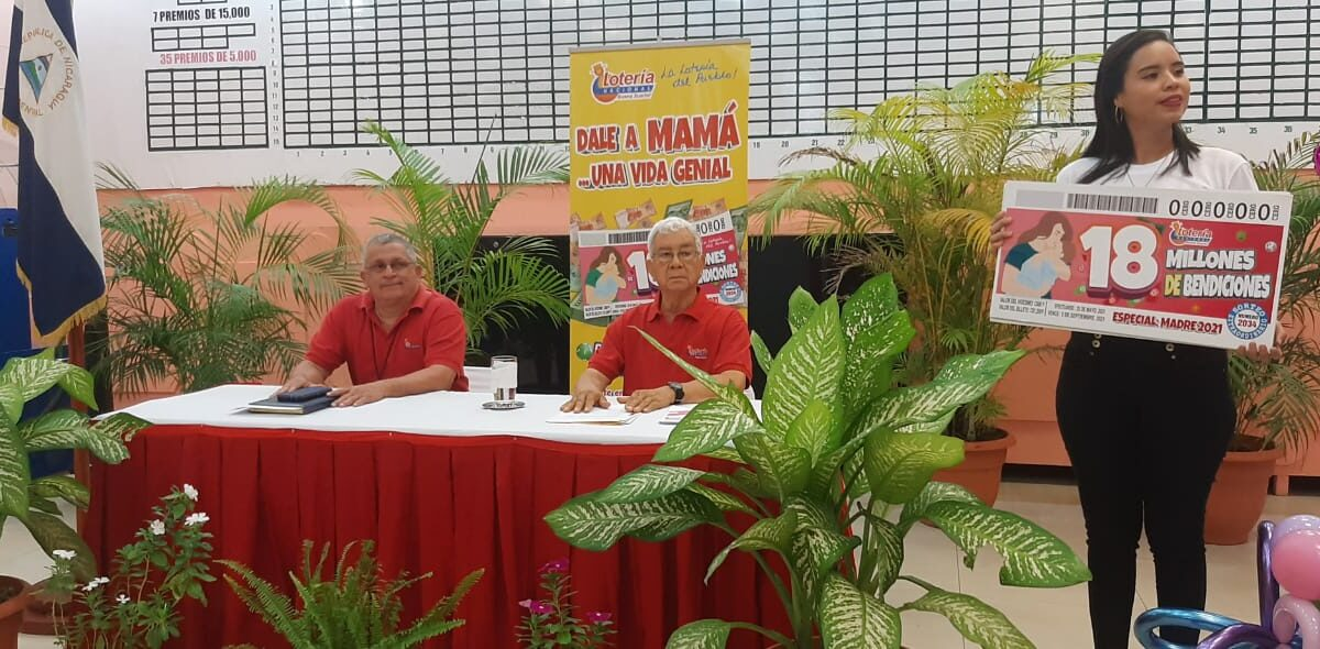 Lotería Nacional realiza sorteo de C$18 millones para celebrar a mamá