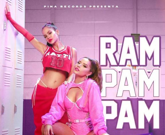 Natti Natasha y Becky G se unen una vez más para lanzar el tema musical 'Ram pam pam'