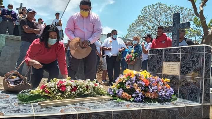 Jinotepe recuerda a la Insp. Juana Francisca Aguilar, a tres años de su asesinato