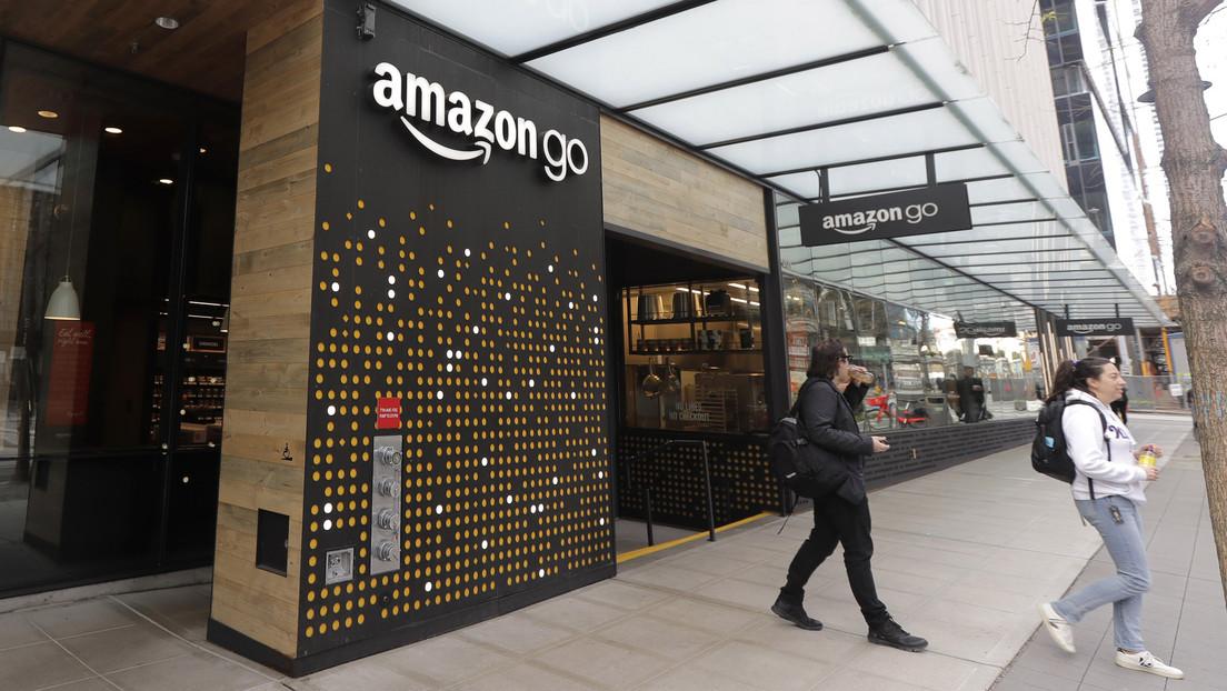 Amazon presenta tecnología para pagar con la palma de la mano
