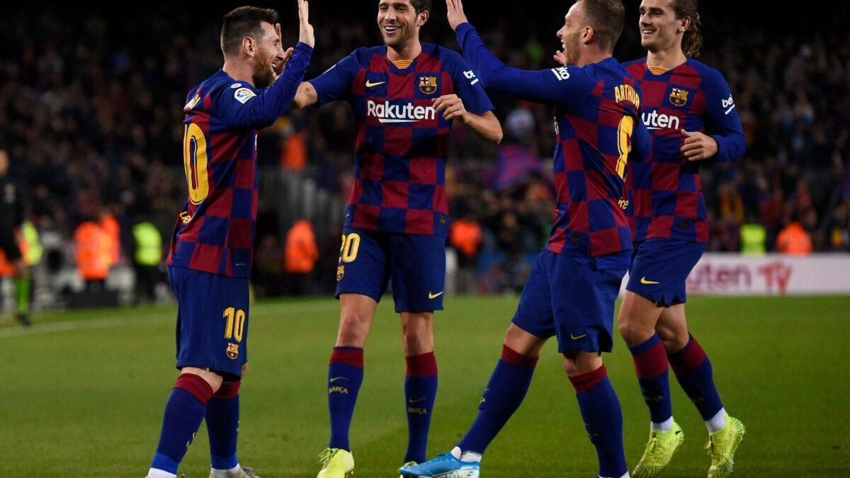 Barcelona con mirada en el Clásico Español