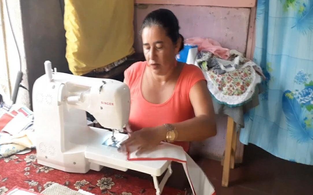 Trinidad Quiroz, la modista del campo
